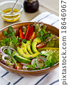 Avocado salad 18646967