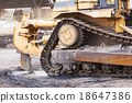 Bulldozer working 18647386