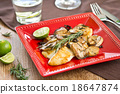 Grilled Dory with Rosemary 18647874