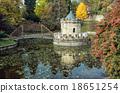 Turret in Bojnice, Slovakia, autumn park 18651254