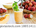 Lychee with Melon smoothie 18651411