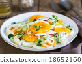 Orange with Fennel and Radish salad 18652160