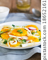Orange with Fennel and Radish salad 18652161