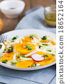 Orange with Fennel and Radish salad 18652164