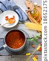 Tomato sauce for pasta 18652175