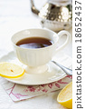 Tea with lemon 18652437