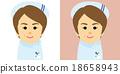 여성, 사람, 벡터 18658943