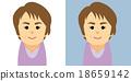 중장년, 여성, 여자 18659142