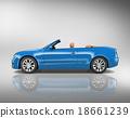 3D Sport Car Vehicle Transportation Illustration Concept 18661239