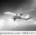 Airplane Plane Flying Aircraft Transportation Travel 18661331
