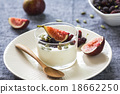 Greek yogurt with Fig ,Mulberries and pumpkin seed 18662250