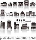 建築 矢量 Icon 18662260