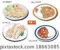 西餐 姜炒猪肉 咖喱饭 18663085