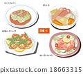 西餐 捲心菜牛肉捲 沙鍋燉菜 18663315