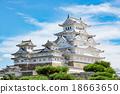 Himeji castle 18663650