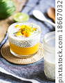 Chia with mango pudding 18667032