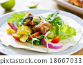 Grilled chicken Tortilla 18667033
