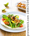 Grilled chicken Tortilla 18667034