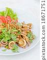 deep fried squid 18671751