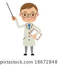醫生 博士 男人 18672848