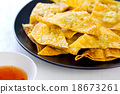 Deep fried Wonton pastry 18673261