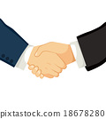 Businessmen Shaking Hands 18678280