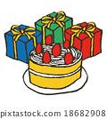 เค้กวันเกิด,ของขวัญ,วันเกิด 18682908