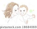 아기와 엄마 18684069