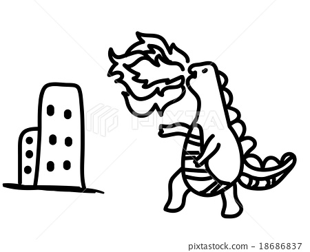 Godzilla charactor 18686837
