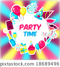 Party Time Background 18689496