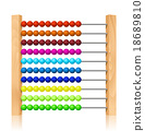 colorful, abacus, wooden 18689810