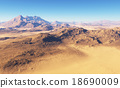 Fantasy desert landscape 18690009