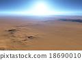 Fantasy desert landscape 18690010