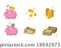 돈 관계의 세트 18692973