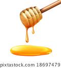 棍棒 蜂蜜 向量 18697479