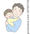 父母和小孩 親子 家庭 18700736