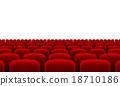 Theater Seats 18710186