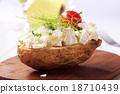 烘烤的 馬鈴薯 土豆 18710439