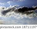 rain clouds in the sky 18711197