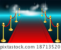 red carpet and light 18713520