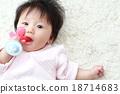 아기 (이를 굳게 장난감 장난감 유아 0 세 젖꼭지 복사 공간) 18714683