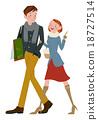 購物 情侶 夫婦 18727514