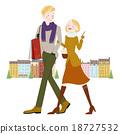 购物 夫妇 男女 18727532
