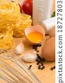 Italian food ingredients 18727803