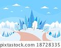 christmas, forest, landscape 18728335
