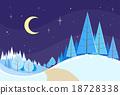 christmas, forest, landscape 18728338