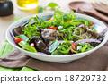 Grilled Aubergine salad 18729732
