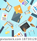 business, desk, people 18730128