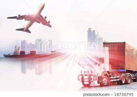 Stock Photo: shipping business industry