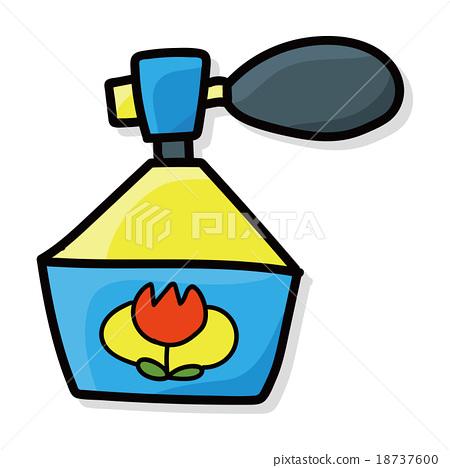 perfume color doodle 18737600